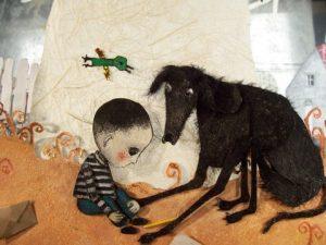 mann med hund